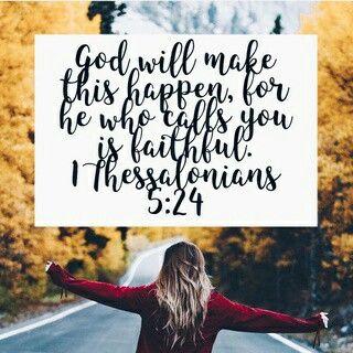 He who calls is faithful