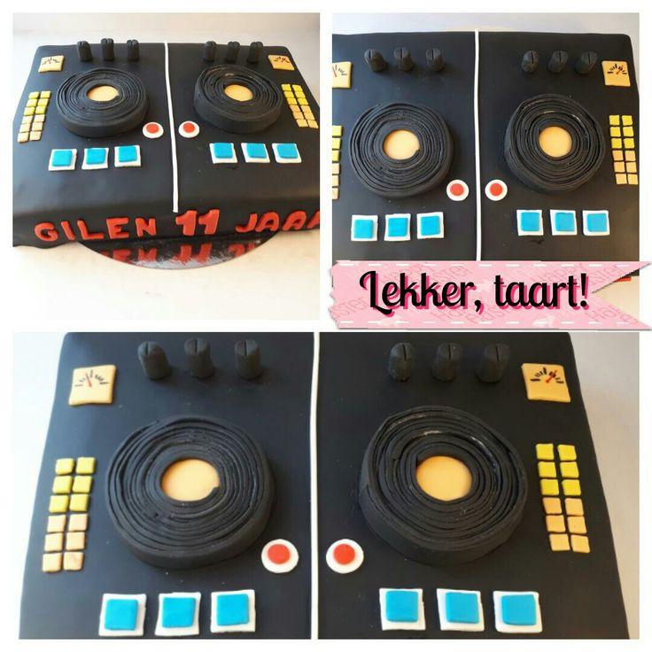 DJ taart.