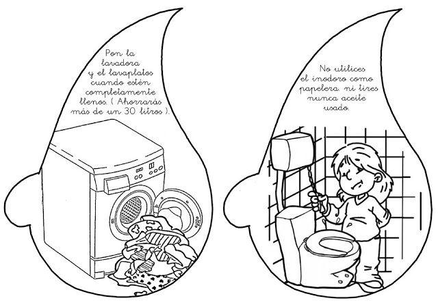 Menta Más Chocolate - RECURSOS y ACTIVIDADES PARA EDUCACIÓN INFANTIL: Usos adecuados del AGUA