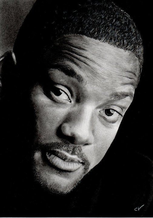 Will SMITH by Sadness40 on deviantART ~ traditional pencil portrait
