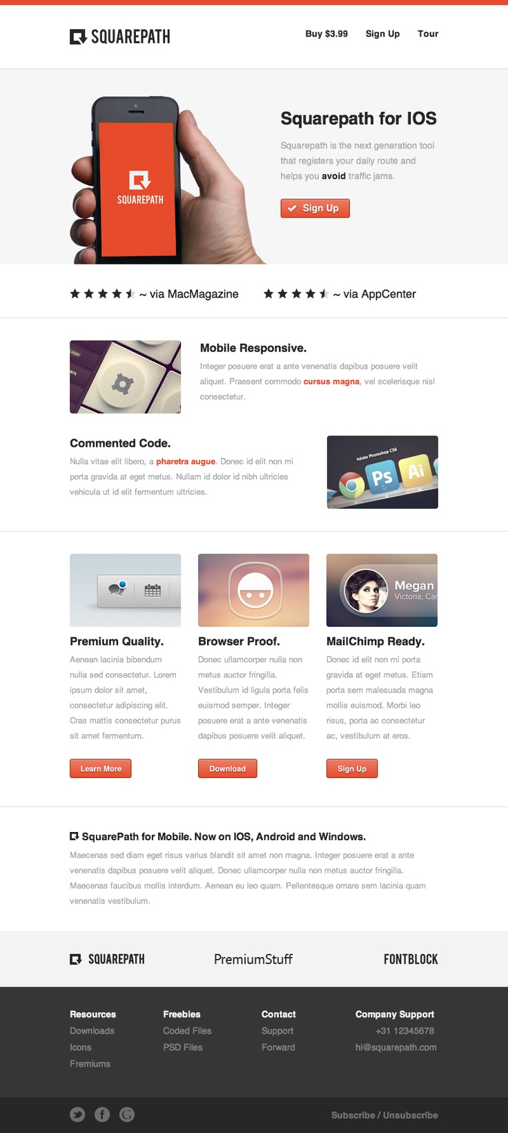 17 best Email/ Newsletter images on Pinterest | Email newsletters ...