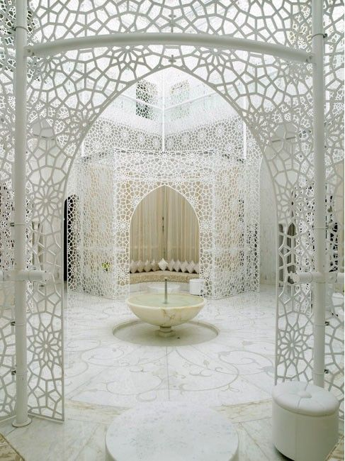 Moroccan architecture (The Royal Mansour, Marrakech)