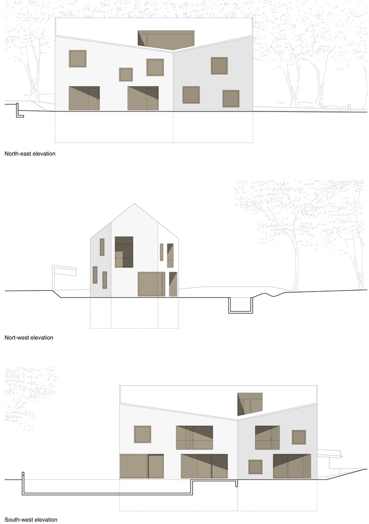 Commercial Building Elevation Drawing : Best images about elevation drawings on pinterest