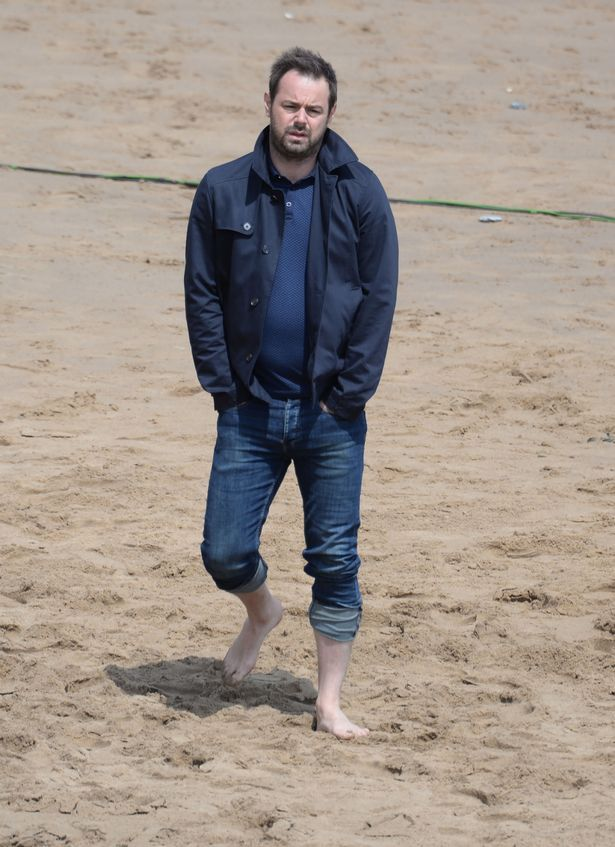 Danny Dyer was filming on Broadstairs Beach