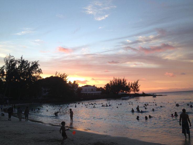 Plage de #Pereybere #Mauritius