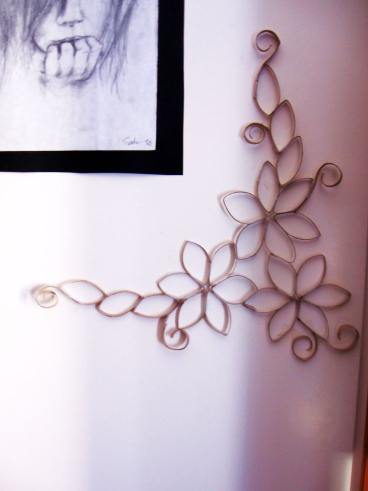 Based on Toilet Paper Roll Wall Art