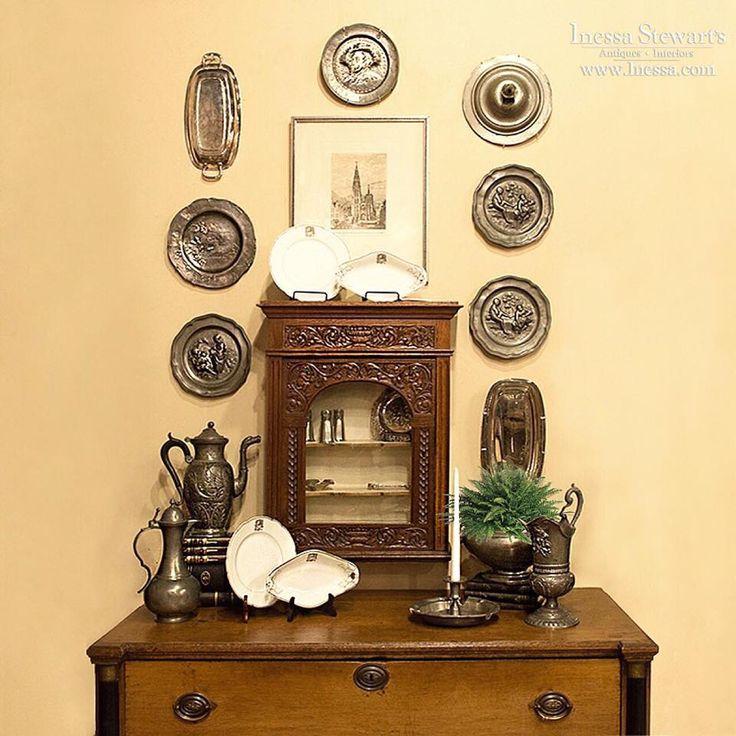 103 best Antique Wall Art Vignettes images on Pinterest | Home ideas ...