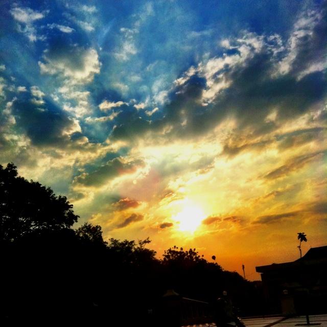Sunset. Semarang, Indonesia