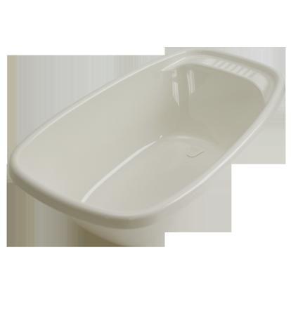 Geuther Детская ванночка со сливом Geuther белая  — 2770р. ----- Детская ванна с крышкой стока белая, пластик