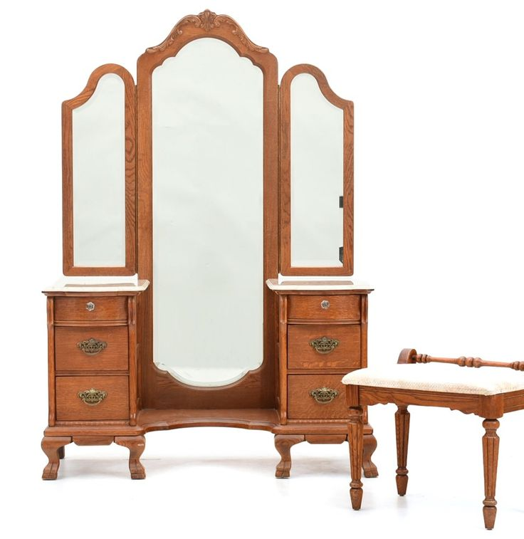 Lexington Furniture Victorian Sampler Collection Vanity