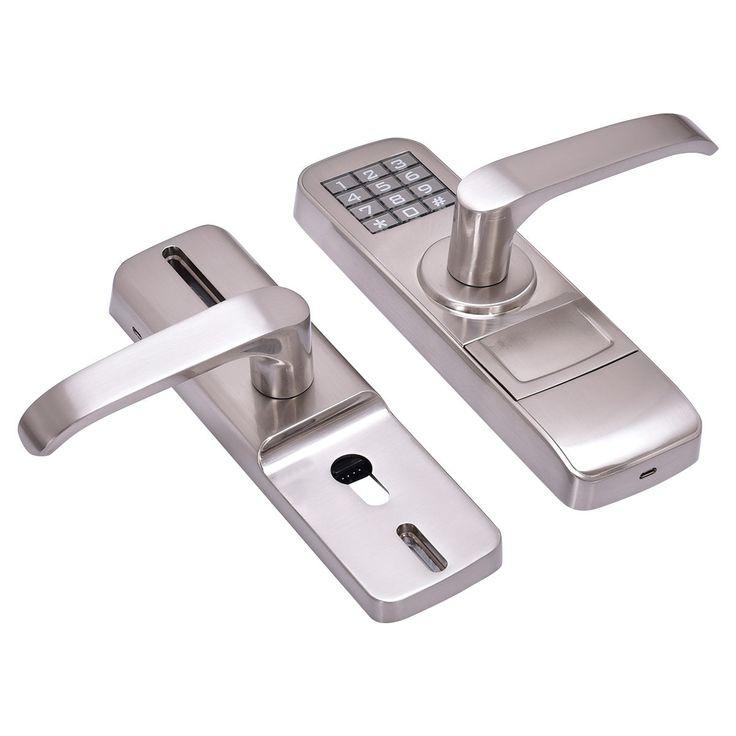best 25 entry door locks ideas on pinterest keyless locks finger print lock and biometric lock. Black Bedroom Furniture Sets. Home Design Ideas