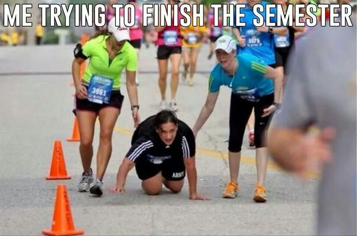 Me trying to finish this semester.