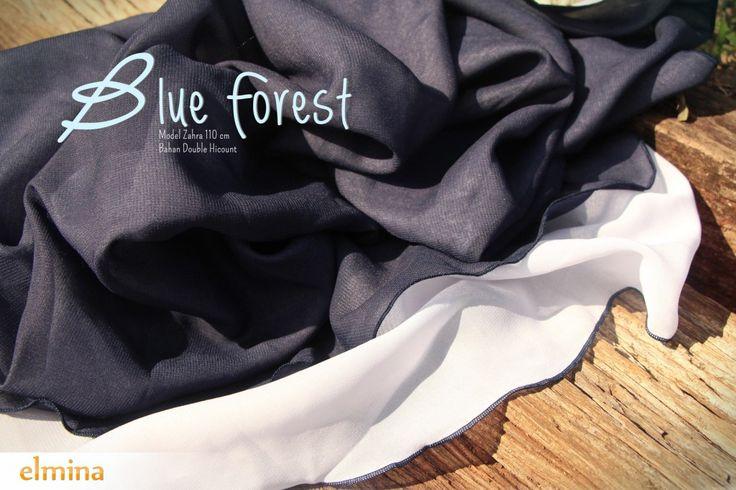 Khimar Elmina Zahra Blue Forest
