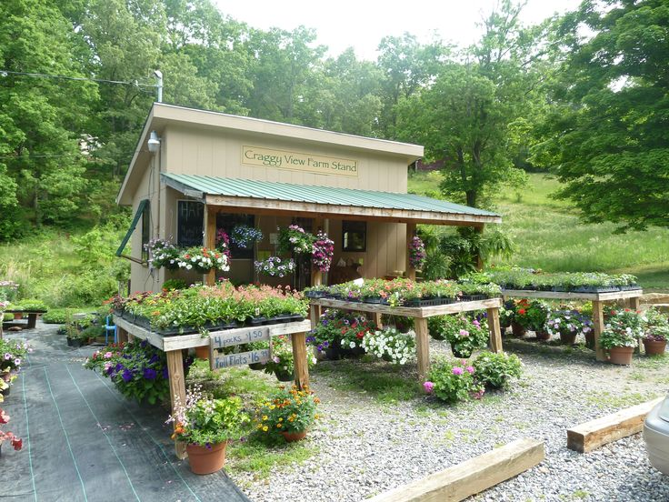 I intend to have a farm stand like this one. I love it.