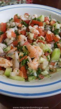 Receta de Ceviche de Camaron Mexicano y Sorteo de Procesador de Alimentos Hamilton Beach Stack and Snap Food Processor.