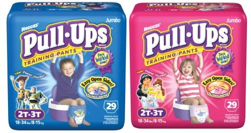 New Pull Ups Coupons {as low as $3.25 per Pack}
