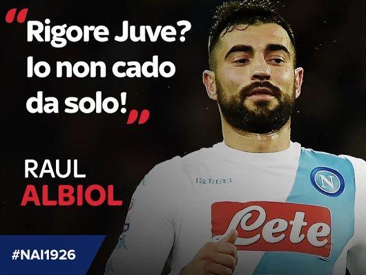 #RaulAlbiol non le manda a dire...     #ForzaNapoliSempre #NAI1926