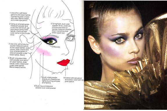 Disco BEAUTY: Nighttime make-up by Sandy Linter