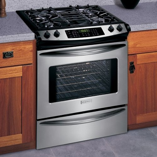 frigidaire slide in range kitchens pinterest