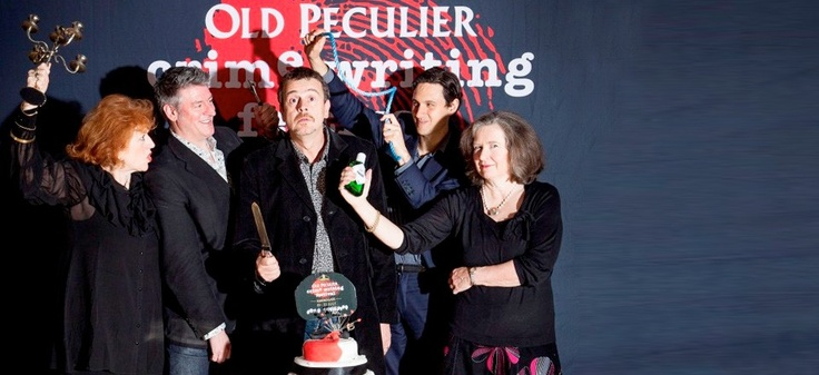 Theakstons Old Peculier Crime Writing Festival 19-22 July 2012, Harrogate, UK
