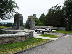 The entrance to Fort Griswold State Park in Groton, Connecticut