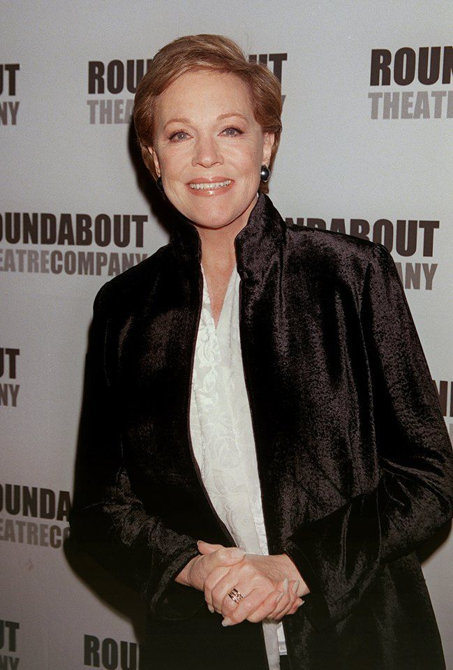 """""""Mary Poppins,"""" Walt Disney's adored musical fantasy based on P.L. Travers' book starring an Oscar-winning Julie Andrews, Dick Van Dyke, Karen Dotrice, Matthew Garber and Glynis Johnson, had its lavish premiere at the then-Grauman's Chinese Theatre in 1964. Photo of Andrews, who made her film debut as Mary, courtesy of AP."""
