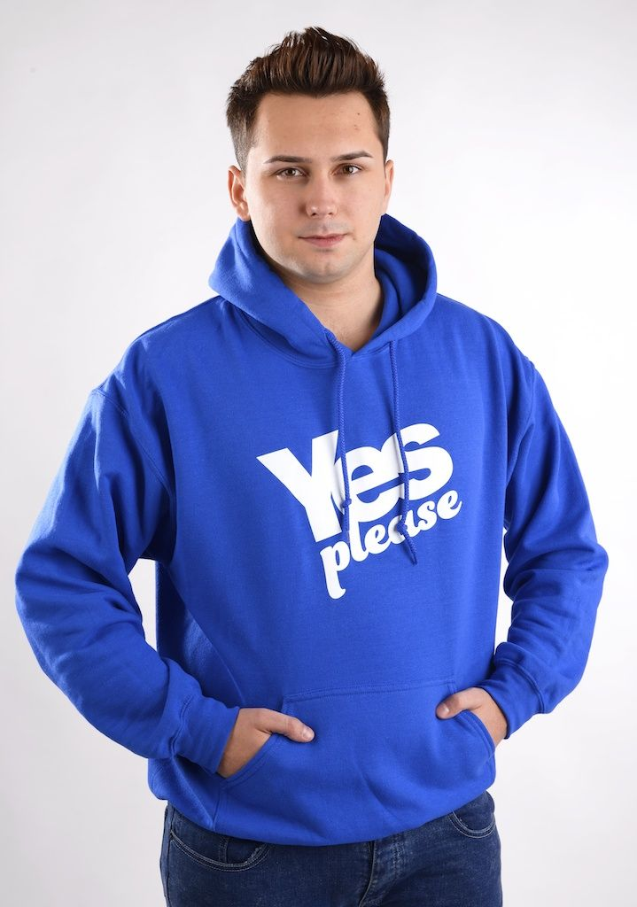 Yes Please Hoodie  Was £25.00  Now £21.99  #indyref #Scotland #Yescampaign #Hoodie #Yesplease
