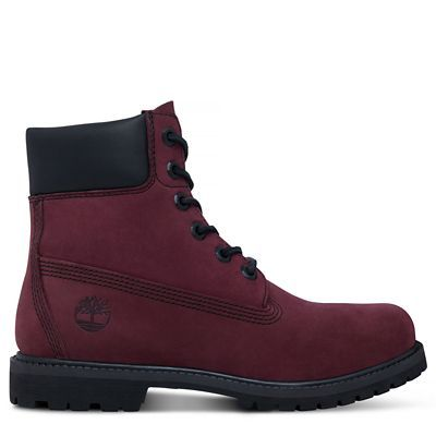 Shop Women's 6-inch Icon Boot Deep Red today at Timberland. The official Timberland online store. Free delivery & free returns.