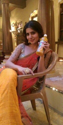 Samantha endorses Maaza