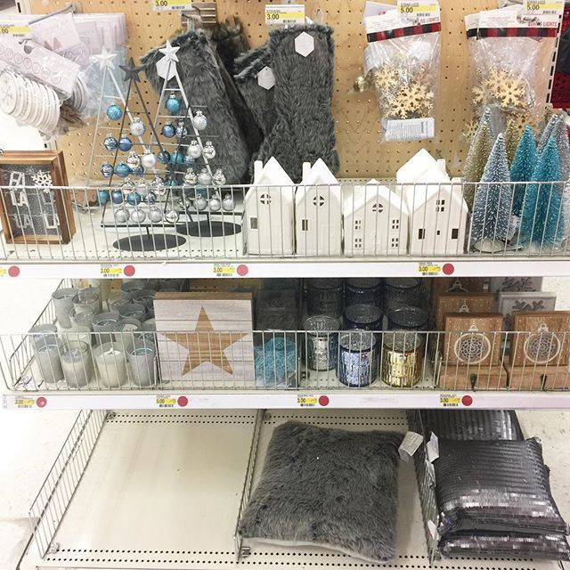 I'LL HAVE A BLUE CHRISTMAS! Here are more silver and blue choices from the holiday collection at the @Target dollar spot. I'll give you some closeups on the items I love from this line.