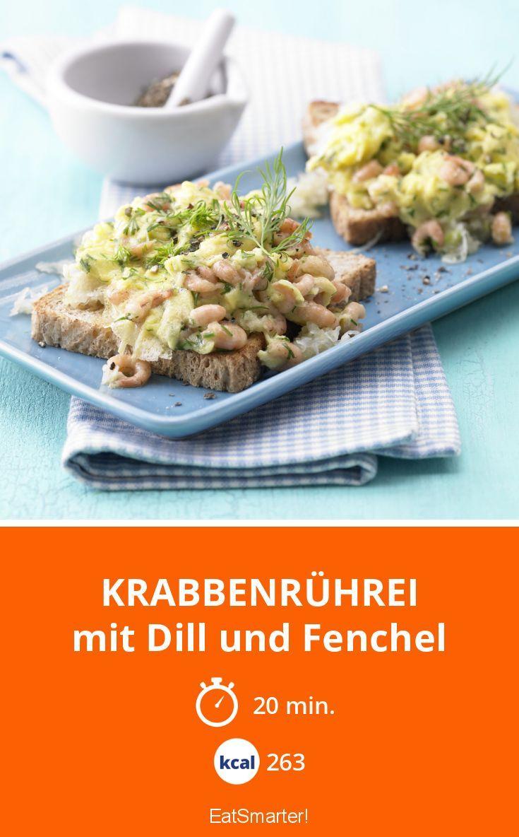 Krabbenrührei mit Dill und Fenchel - Rührei mal anders für alle Fenchelfans!