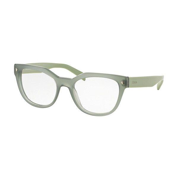 Prada PR21SVF Asian Fit UEI1O1 Eyeglasses (USD160) liked on ...