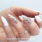 30 große Stiletto Nail Art Design-Ideen #nailart   – Nailorder