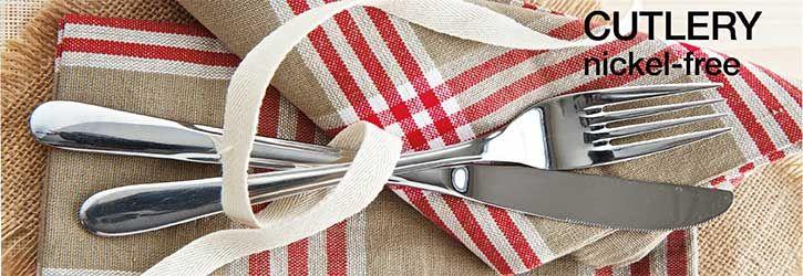 Cutlery nickelfree Cutlery set stainless steel, Nickel