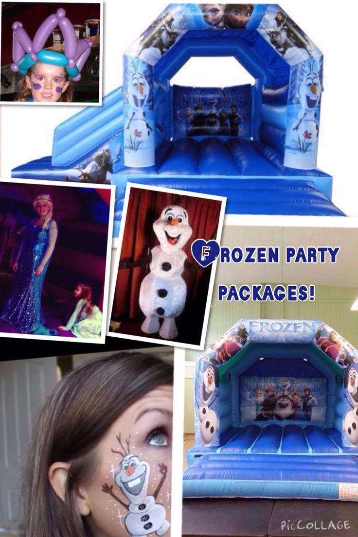 Frozen party packages