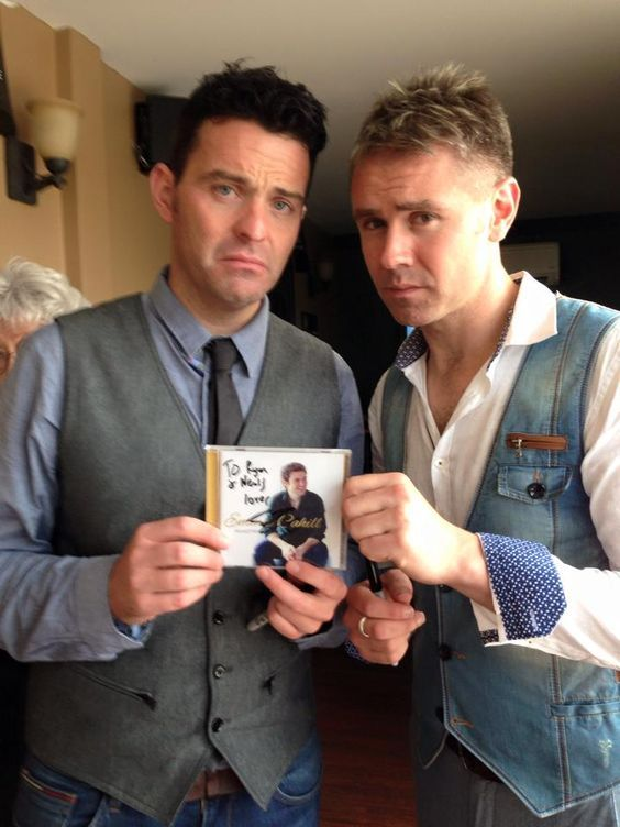 Mr.  Ryan Kelly and Mr. Neal Byrne, Two beautiful men of Celtic Thunder