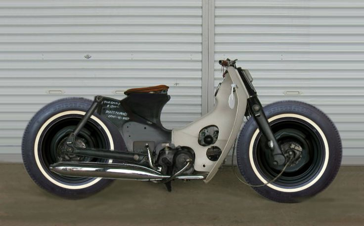 Hot Rod HONDA CUB 50 1975's