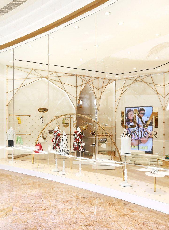 UM Junior Top Kid's Wear Multibrand Store by AS Design at Sands Cotai Central, Macau – China » Retail Design Blog