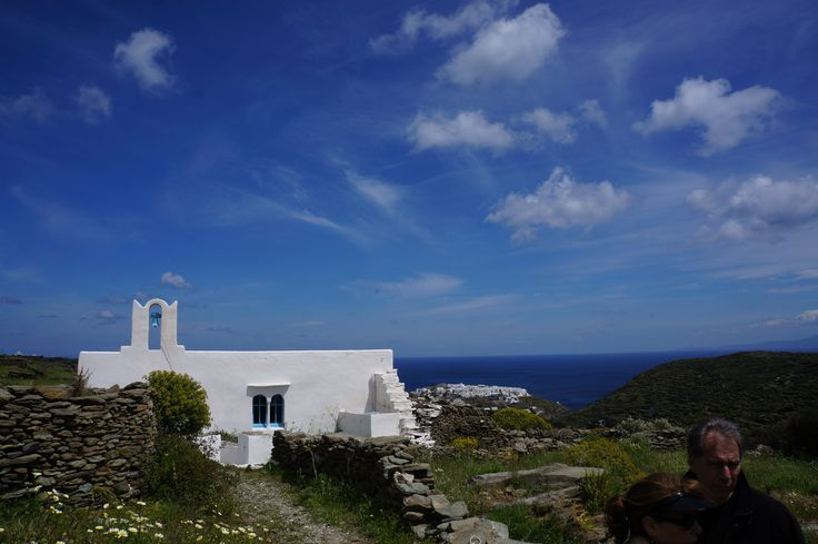 Far away we see the incredible Kastro, Sifnos