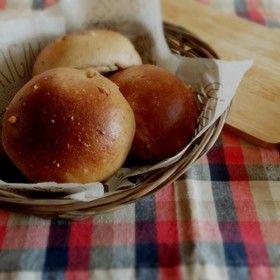 【糖質制限】大豆粉ふわふわ丸パン