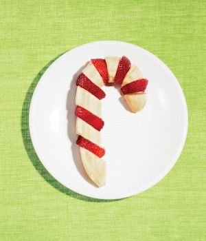 We love this healthy, fruit-filled take on the traditional candy cane!