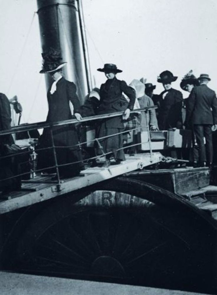 11 Never-Before-Seen Photographs of the Titanic Taken by Father Frank Browne SJ