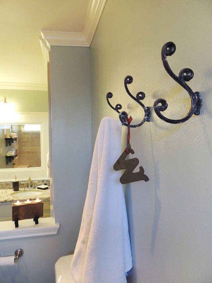 39 best the towel bar vs the hook images on pinterest bathroom for the home and bathrooms. Black Bedroom Furniture Sets. Home Design Ideas