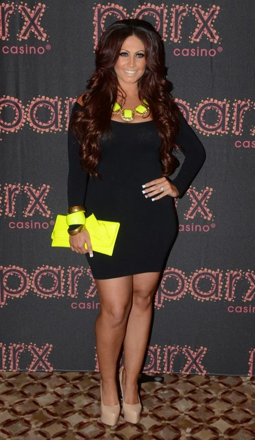 Jerseylicious star Tracy DiMarco attends the Reality TV Divas event in Philadelphia.