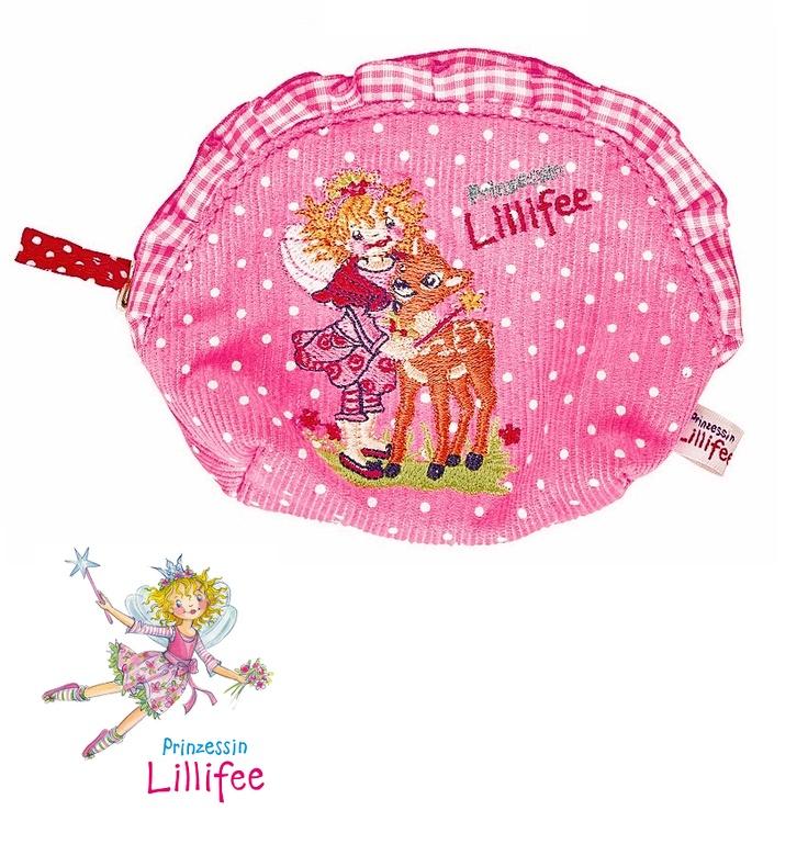 Delicado monedero color rosacon diseño de la princesa lillifee, para guardar su dinero con estilo.  REBAJAS en todos nuestros Juguetes en General. 30% de Descuento.