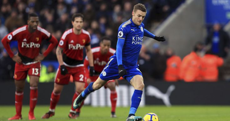 Vardy and Mahrez inspire Leicester to 2-0 win over Watford