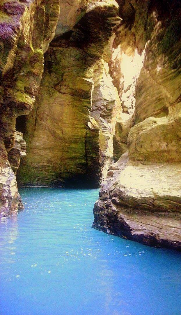 Rockburn Chasm, Glenorchy, South Island, New Zealand