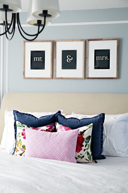 Bedroom make over ideas lots of DIYs