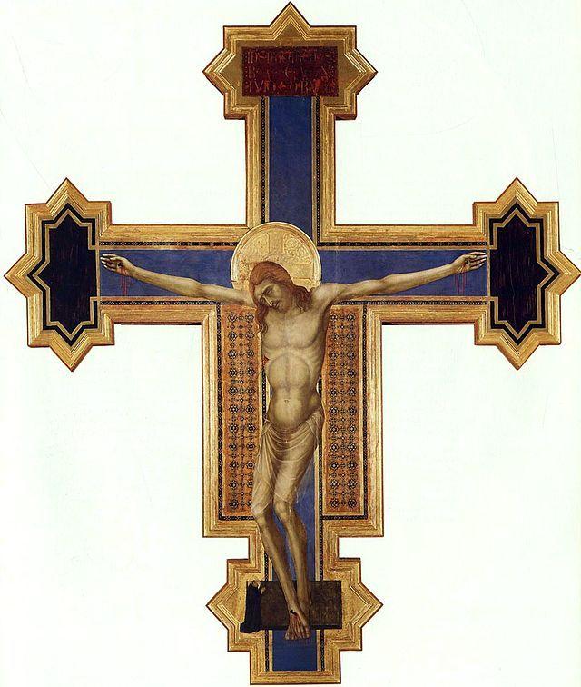 Ugolino Di Nerio CroceDipinta. c. 1330. Santa Maria dei Servi - Уголино ди Нерио — Википедия. Расписной крест. ц. Санта Мария деи Серви, Сиена.