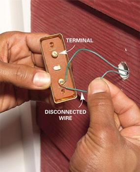 Fix a dead or broken doorbell